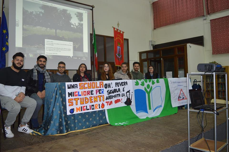 Assemblea liceale sul nuovo polo scolastico, Foresta: la Provincia si impegna a completare i lavori
