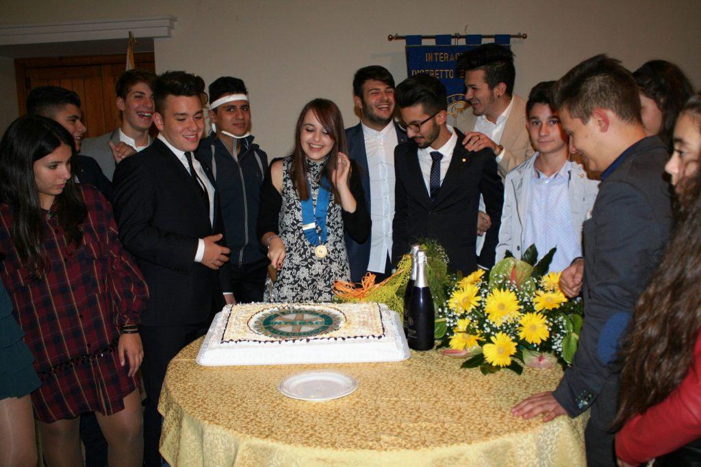 Benedetta Persico, il nuovo presidente del Rotary Interact