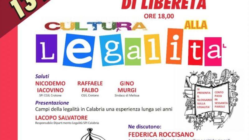 """Festa di Libereta' """"Cultura alla Legalità"""""""