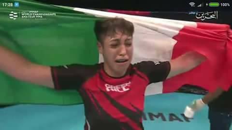 Giampà orgoglio calabrese: laureata campionessa del mondo