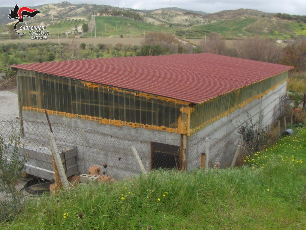 Sequestrato capannone abusivo a Strongoli