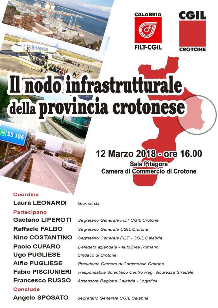 Il nodo infrastrutturale della provincia crotonese