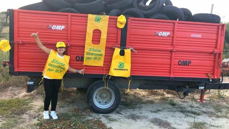PFU a Roccabernarda raccolti dai volontari