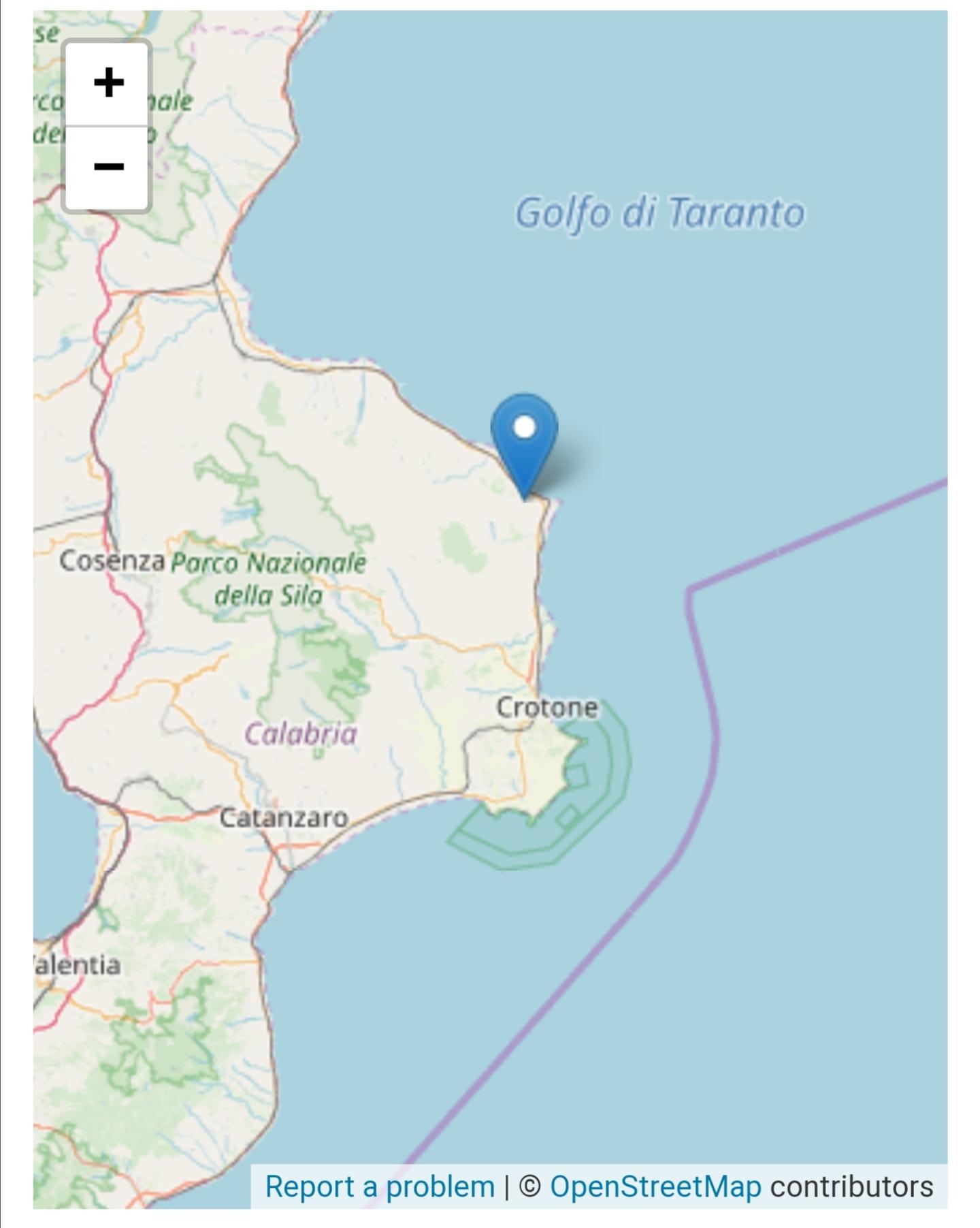 Serie di terremoti in Calabria, le ultime scosse anche nel crotonese