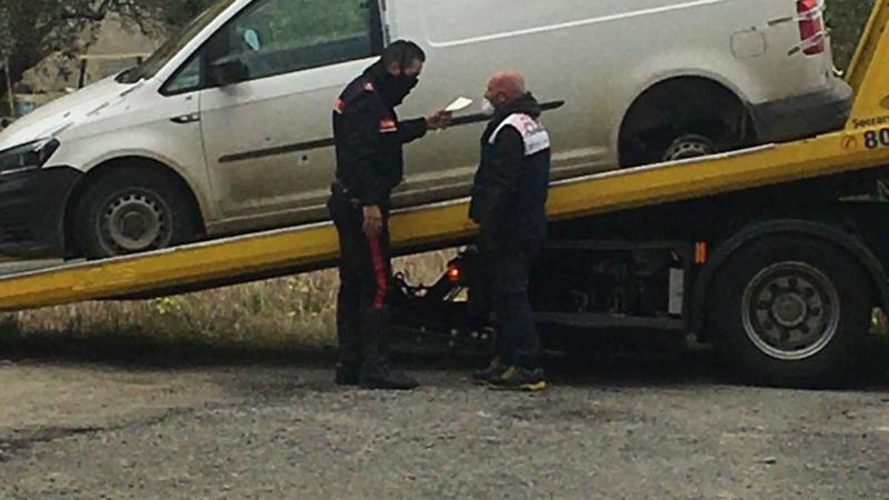 Inseguimento tra Botricello e Cutro, un'auto non si ferma all'alt dei Carabinieri