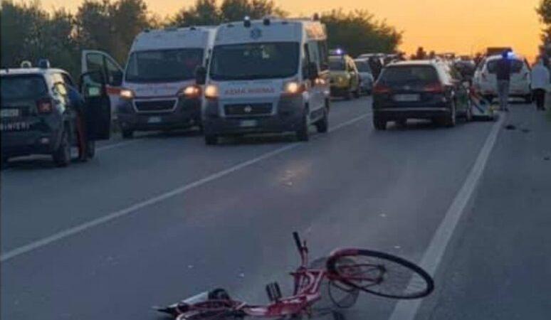 Incidente sulla 106: morto un ciclista