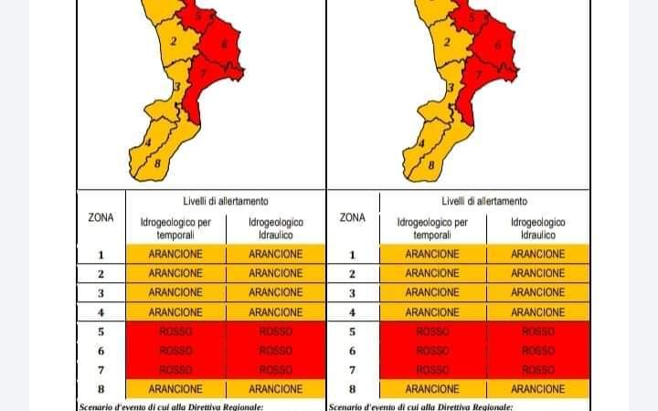 Allerta meteo: Previste anche per domani piogge intense