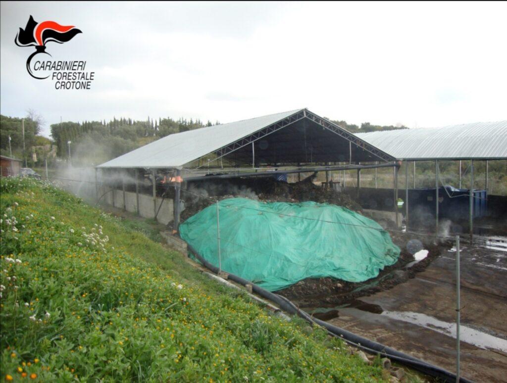 Irregolarità all'isola ecologica di Cotronei