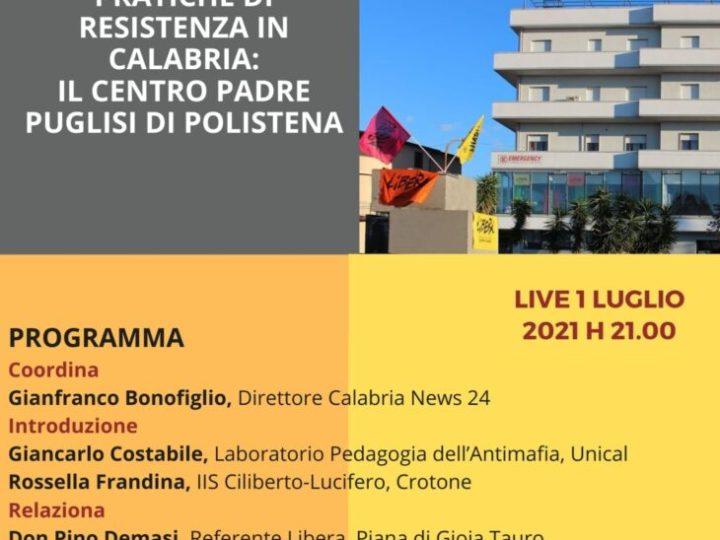 Unical, il modello educativo antimafia di don Pino Demasi e la storia del Centro Padre Puglisi di Polistena nel webinar di Barbiana 2040 e Istituto Ciliberto di Crotone