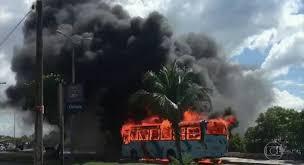 Ataques do crime organizado em Fortaleza/CE
