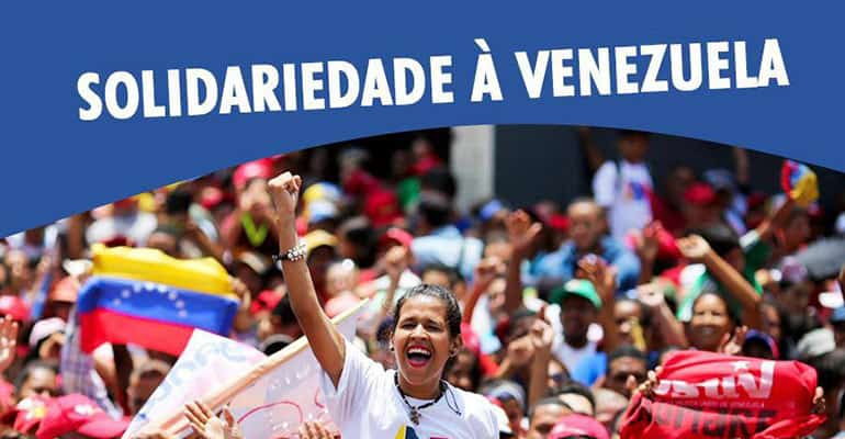 solidariedade à venezuela! pela pal
