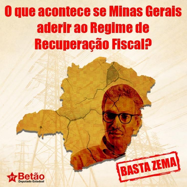 Minas Gerais venha a aderir ao RRF