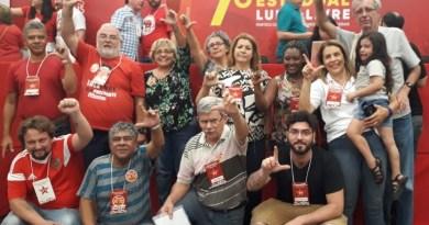Bancada do DAP no Congresso do PT de Minas