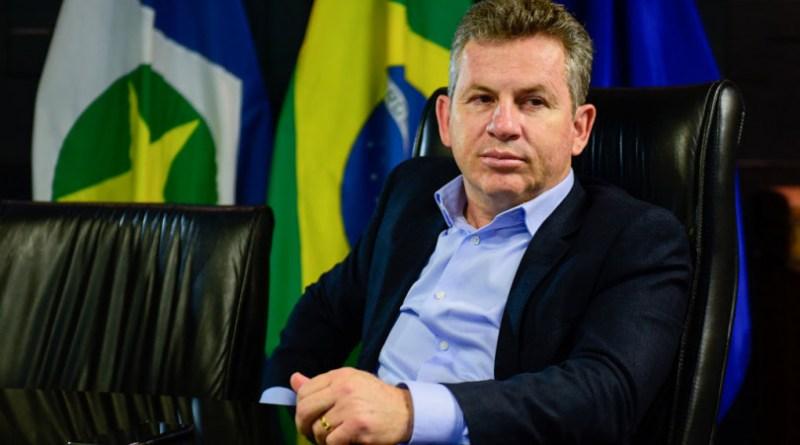 Mauro Mendes, governador de MT