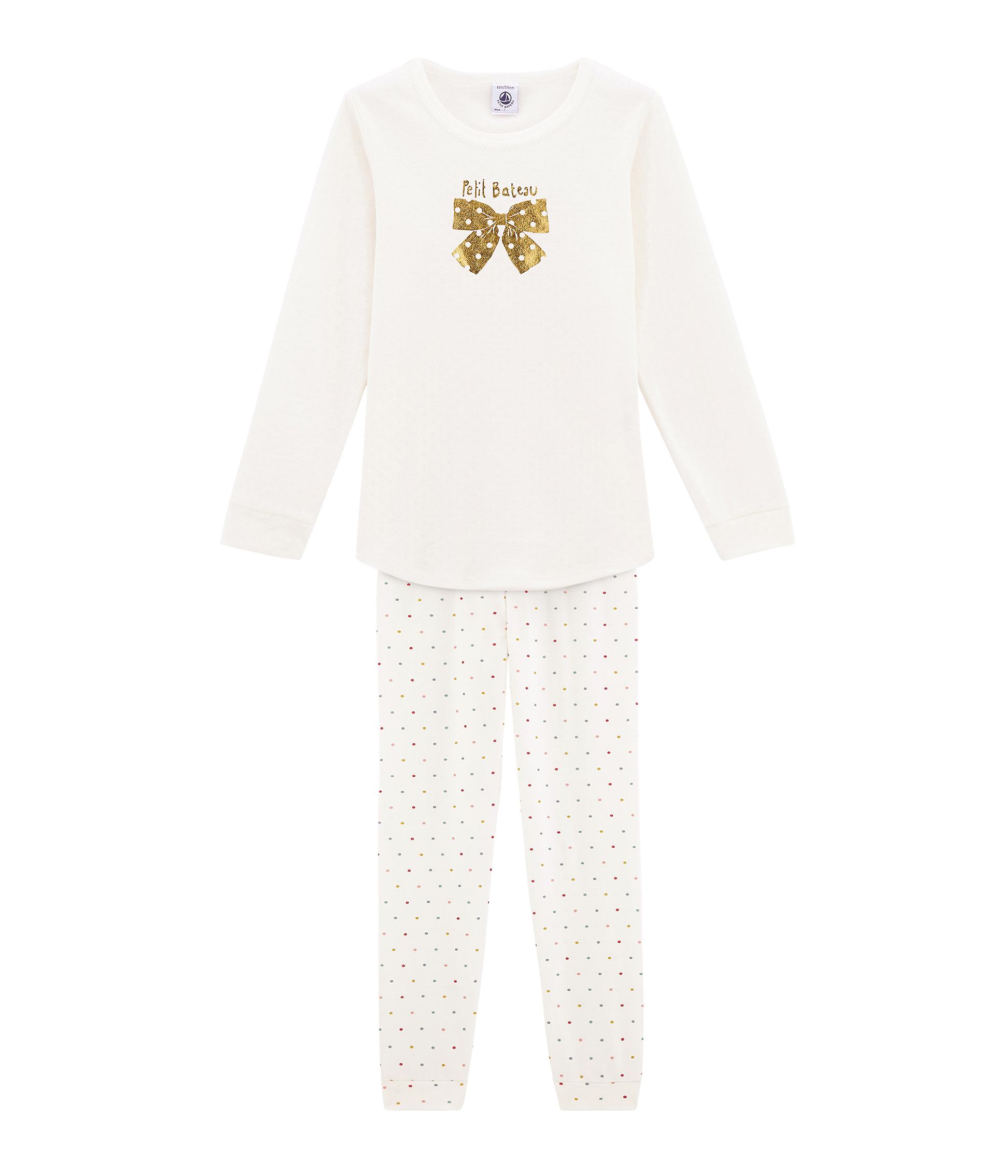 Pyjama Petite Fille En Cote