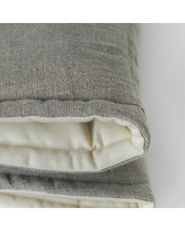 tapis de jeux en coton et lin naturel