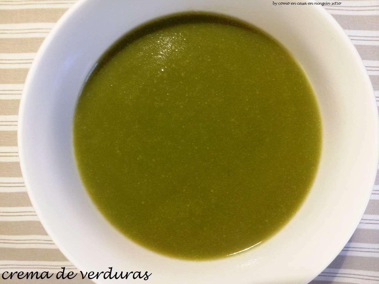 Crema De Verduras Receta Petitchef
