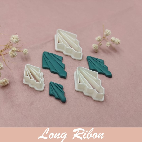 Long Ribon | Polymer Clay | Cutters | Polymer Clay Tools & Supplies | Handmade Jewellery