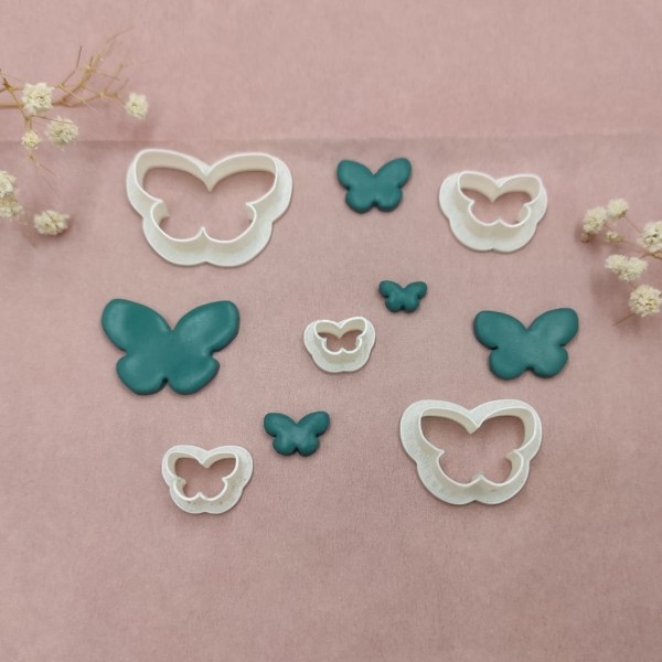 Butterfly Shape | Polymer Clay | Cutters | Polymer Clay Tools & Supplies | Handmade Jewellery