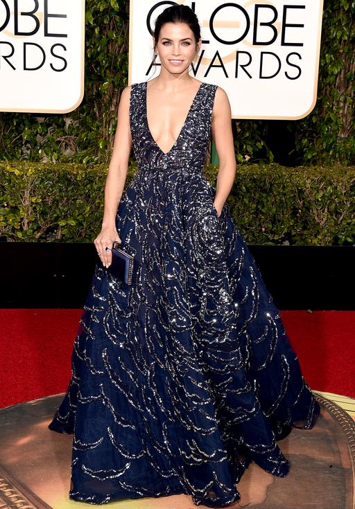 Jenna Dewan Tatum Golden Globes 2016