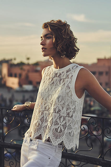 Anthropologie lace 5.24