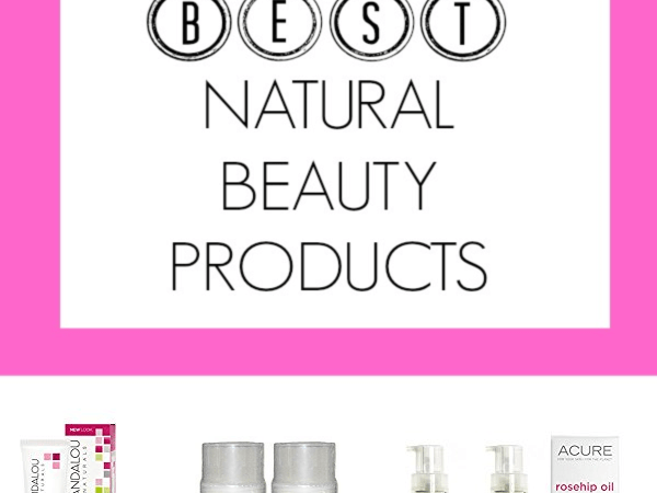 5 Best Natural Beauty Products - Discover my top favorite natural products that are just as good as the chemical stuff. PETITECHEFBLOG.COM