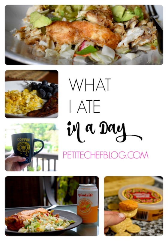 What I Ate in a Day | 24 hours of healthy meals, from breakfast to lunch and dinner | PETITECHEFBLOG.COM