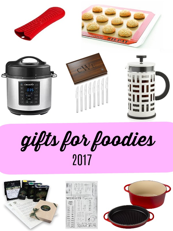 2017 Holiday Gift Guide for Foodies | Gift ideas for cooks, bakers, and foodies under $25, under $50, under $100, and over $100 | PETITECHEF.com