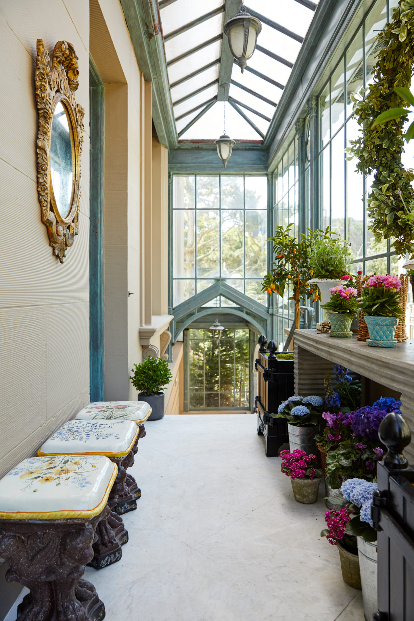 A Beautiful Flower Arranging Room And Orangerie Petite Haus