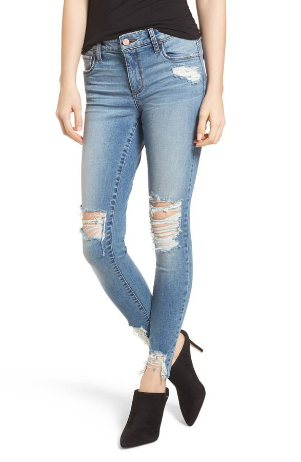 Ripped Skinny Jeans BP.