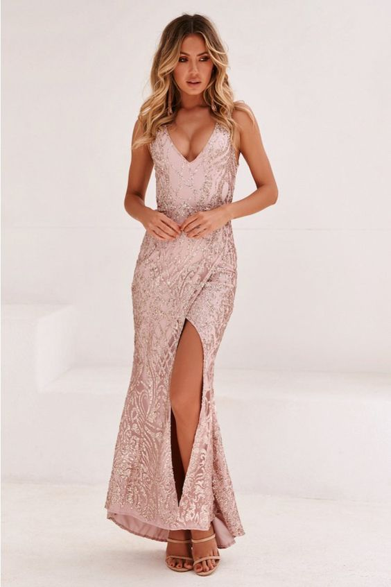 RIGHT PAST YOU MAXI DRESS