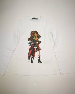 Petite Madeleine | Dsquared2 T-Shirt – DQ02Y1
