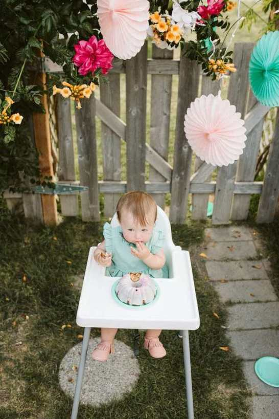 Garden Party First Birthday