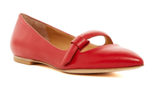 Red Marc by Marc Jacobs Ballerina Flat on sale at Nordstrom Rack.