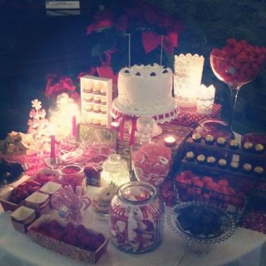 Sweet table navidad