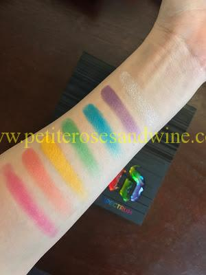 IMG_7014 Urban Decay Full Spectrum Palette Swatches MAKEUP