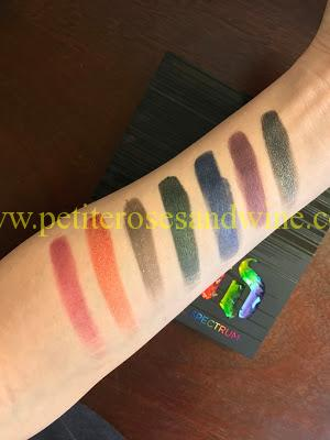 IMG_7019 Urban Decay Full Spectrum Palette Swatches MAKEUP