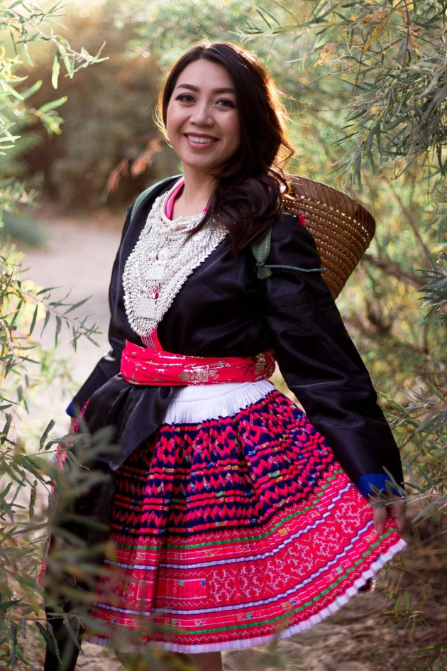 IMG_6304-683x1024 Hmong Outfit Series :: Hmoob Moos Pheeb Hmong Outfit Series