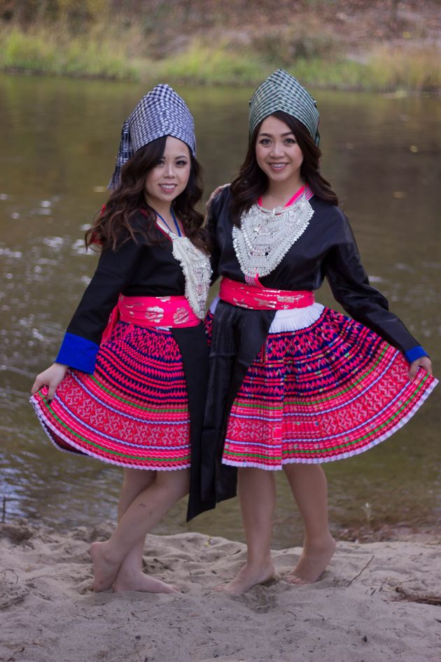 IMG_6352-683x1024 Hmong Outfit Series :: Hmoob Moos Pheeb Hmong Outfit Series