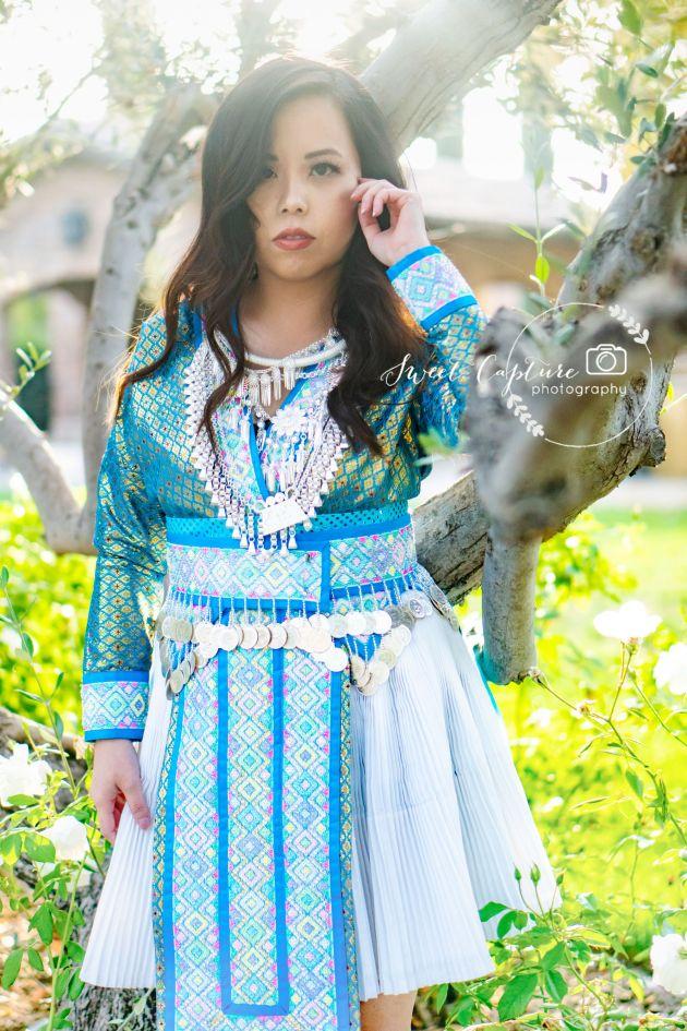 DSC01216-683x1024 Hmong Outfits Series :: Paj Ntaub Cog Ci Hmong Outfit Series OUTFITS