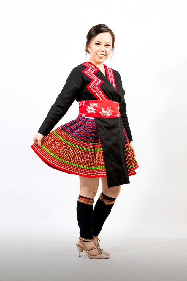 A2A0611-683x1024 Hmong Outfit :: Red Appliqué & Zig Zags DIY HMONG