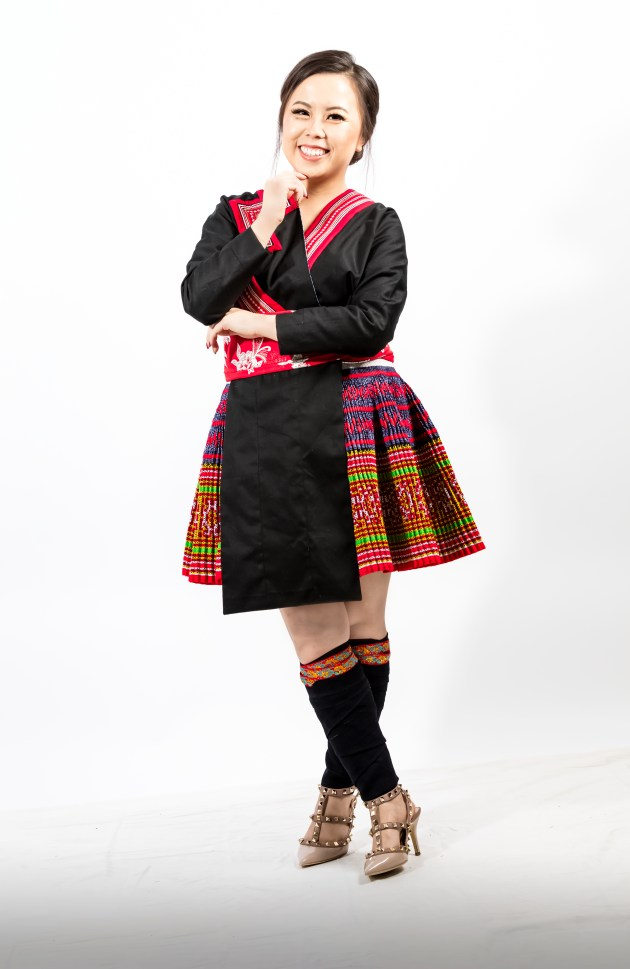 A2A0625-666x1024 Hmong Outfit :: Red Appliqué & Zig Zags DIY HMONG