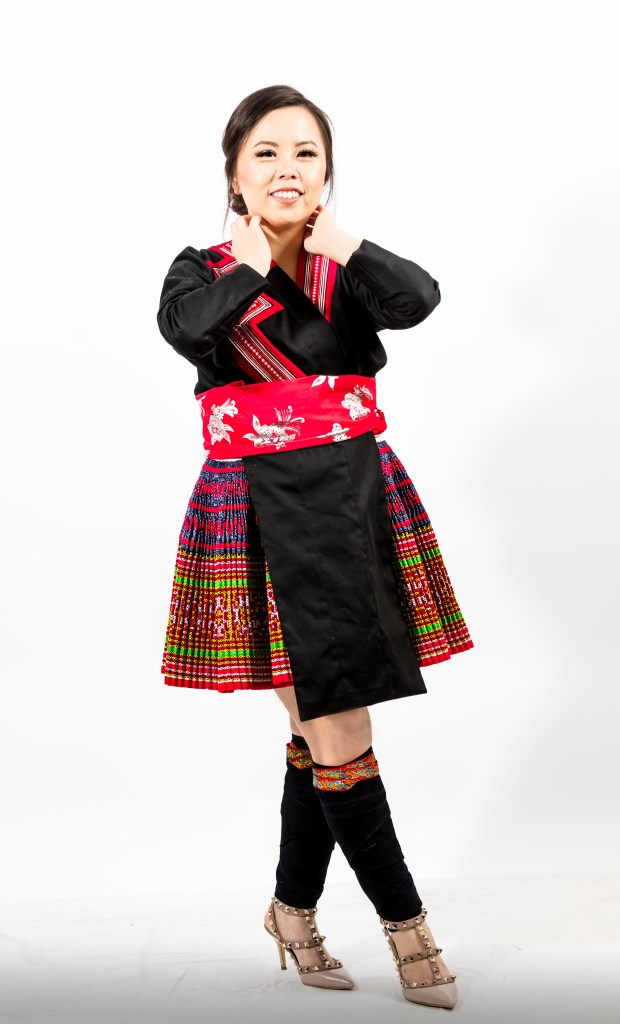 A2A0633-620x1024 Hmong Outfit :: Red Appliqué & Zig Zags DIY HMONG