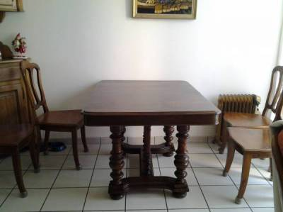 table ancienne bois massif annonce
