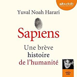 Idée Cadeau de Noël pour Papa Homme Livre Sapiens - Une brève histoire de l'humanité