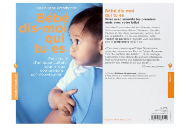 Livre Grossesse Bébé Dis-moi qui tu es Docteur Philippe Grandsenne