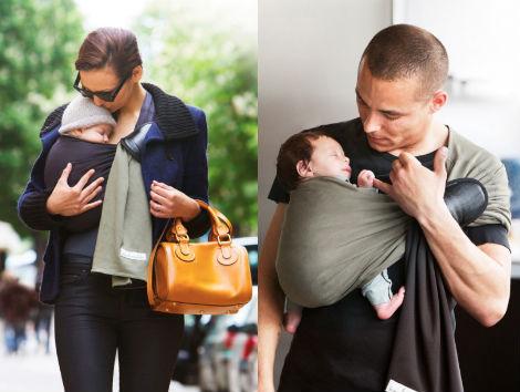 Voyager avec bébé La Petite Echarpe Sans Noeud Je Porte Mon Bébé