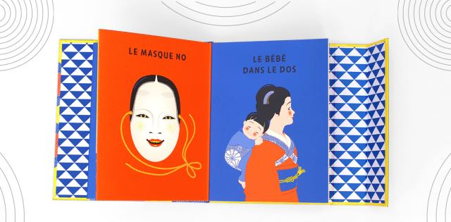 Livre Bébé Imagier d'Asie Marie Caillou