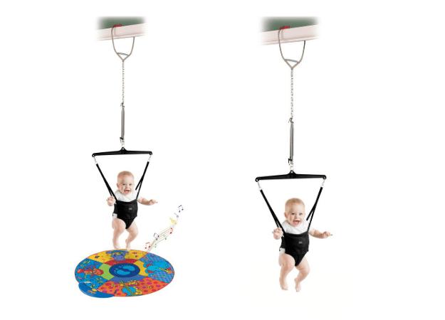 Sauteur bébé à suspendre Jolly Jumper Noel 2018