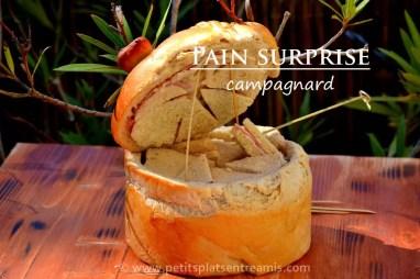 Pain surprise campagnard